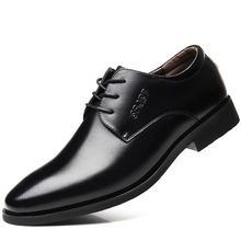 цены Genuine Leather Men Wedding Dress Shoes Men Formal Shoes Brand Luxury Fashion Lace up Mens Business Casual Oxford Shoes for Men