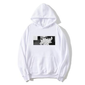 Streetwear Fashion Hoodies Unisex Naruto Harajuku Japanese Anime Uchiha Itachi Printed Mens Hoodie Male Casual sweatshirt Coat