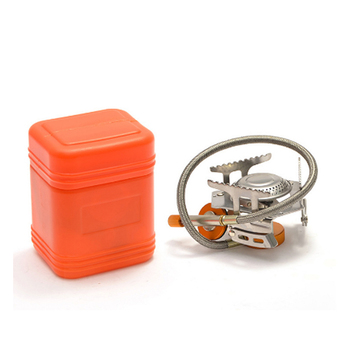 Mini Outdoor Gas Stove Camping Cooking Picnic Travel Gas Burners Climbing Portable Collapsible Split Outdoor Stove Outdoor Tools brs outdoor high strength energy warehouse polycarbonate picnic camping travel power gas tank unit bin hot sale accessory