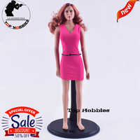 Action Figure Anime 1/6 Toys & Hobbies Action & Toy Figures 1:6 scale accessories GCTOYS Female Head Sculpture Rose Miniskirt Dr