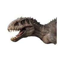 Nanmu – jouet de dinosaure Indominus Rex, Berserker Rex + petite figurine humaine, jouets classiques pour garçons, modèle Animal, mâchoire mobile