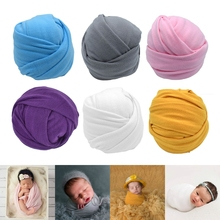 Blanket Baby Wraps Photo-Swaddling Photography-Props Newborn Backdrop Stretchable Super-Soft