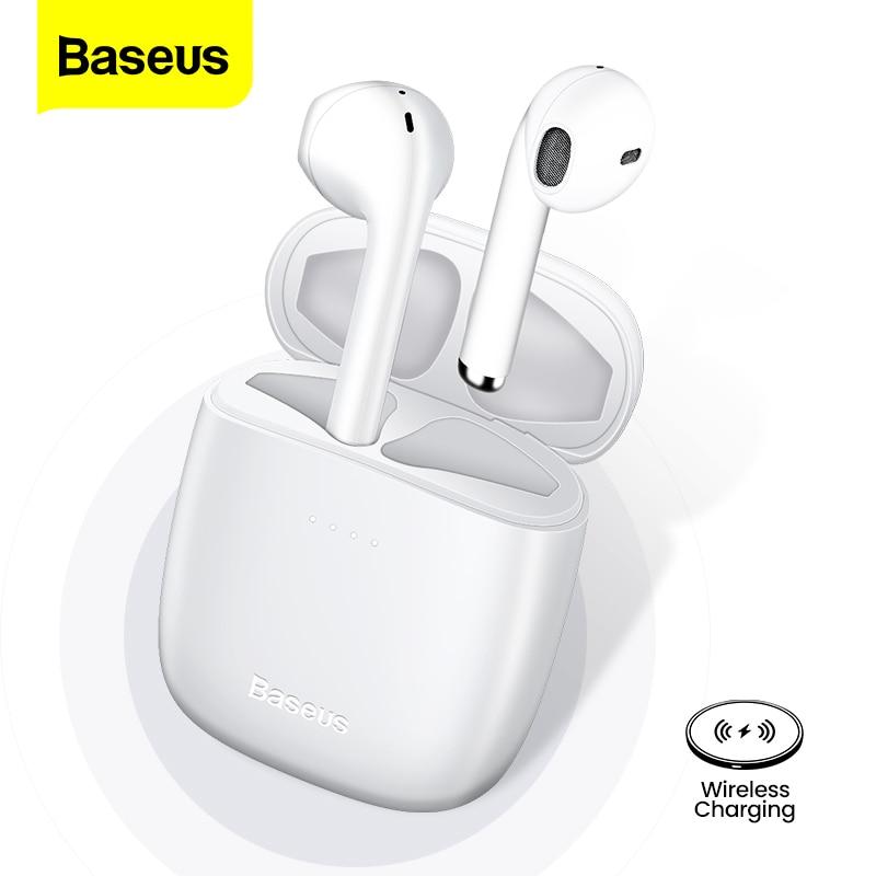 Baseus W04 TWS auriculares inalámbricos Bluetooth 5,0 auriculares estéreo auriculares inalámbricos auténticos auriculares manos libres en la oreja auriculares para el teléfono Xiaomi Auriculares y audífonos    - AliExpress