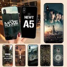 The Maze Runner โทรศัพท์กรณีสำหรับ Xiaomi Redmi 4X5 Plus 6A 7 7A 8 Mi8 8Lite 9หมายเหตุ4 5 7 8 Pro