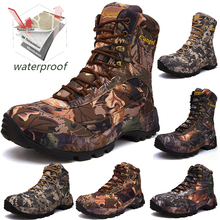 Men Professional Tactical Hiking Boots Waterproof Breathable DELTA Shoes Combat Military Boots Camping Mountain Sports Sneakers free soldier army tactical boots men combat shoes leather breathable military combat boots outdoor hiking camping sport shoes page 5