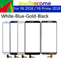 "5.7"" Touchscreen For Huawei Y6 2018 Touch Screen Panel Sensor Digitizer For hauwei Y6 Prime 2018 LCD Display Glass Lens Panel"