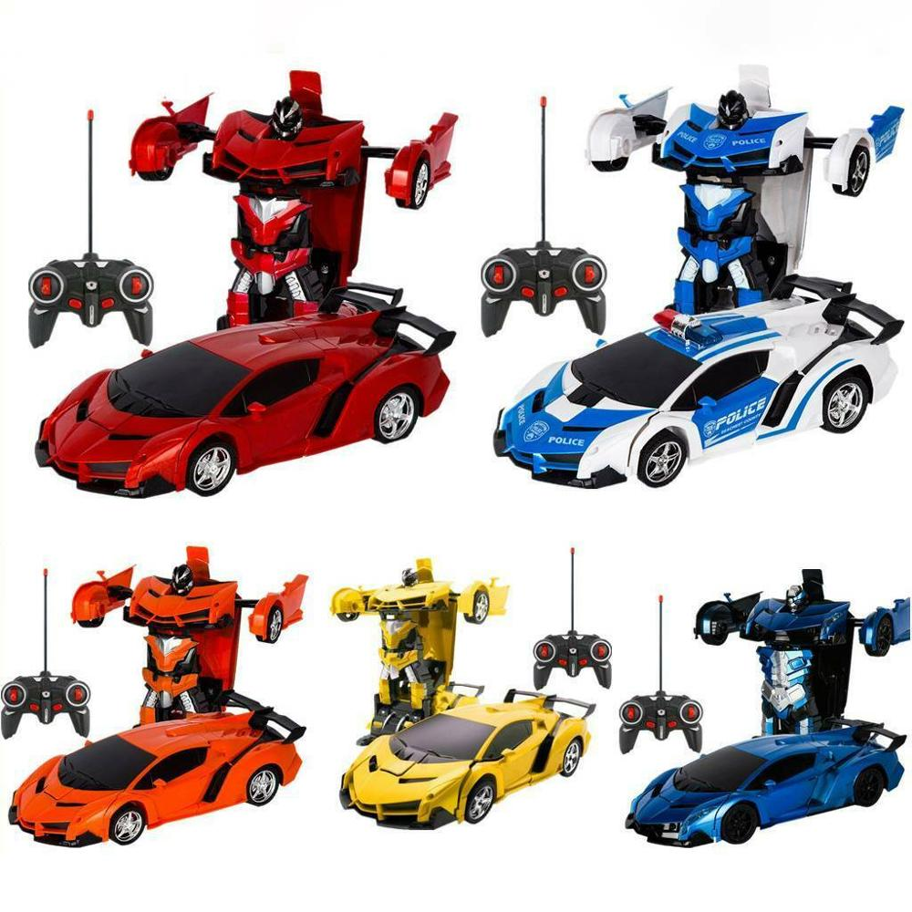 Deformation Car Transformation Robots Sports Vehicle Model Robots Toys Cool Deformation Car Kids Toys Gifts For Boys
