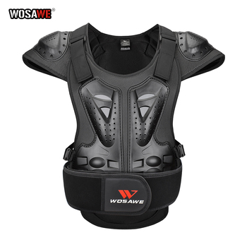 wosawe motorcross back protector skating snow body armour motorcycle spine guard moto jacket kneepads elbow guard moto armor Motorcycle Jacket Adult Chest Back Protector Moto Body Armor Guard Racing Body Protector Armor Jacket Motocross Protective Gear