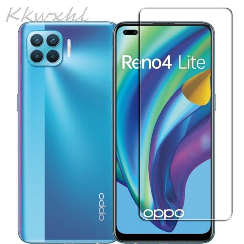 Закаленное стекло 9H HD для OPPO Reno4 Lite 6,43 дюйма, защитная пленка на Reno 4 4 Lite CPH2125, защитная крышка для экрана