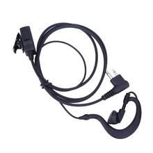1m 2 broches écouteur casque micro PTT pour Motorola CB Radio CP88 CP040 CP100 CP110 XV1100 XV2100 AXV5100 XU1100 talkie-walkie