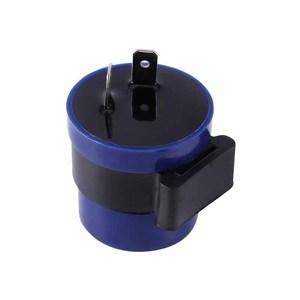 Turn Indicator Relay Light Beeper Flasher Blue+Black Lighting Motorcycle Accessories Display Blinker 8W Signal