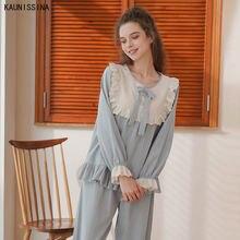 Wome/Пижама с длинными рукавами; Сезон весна осень; Одежда для