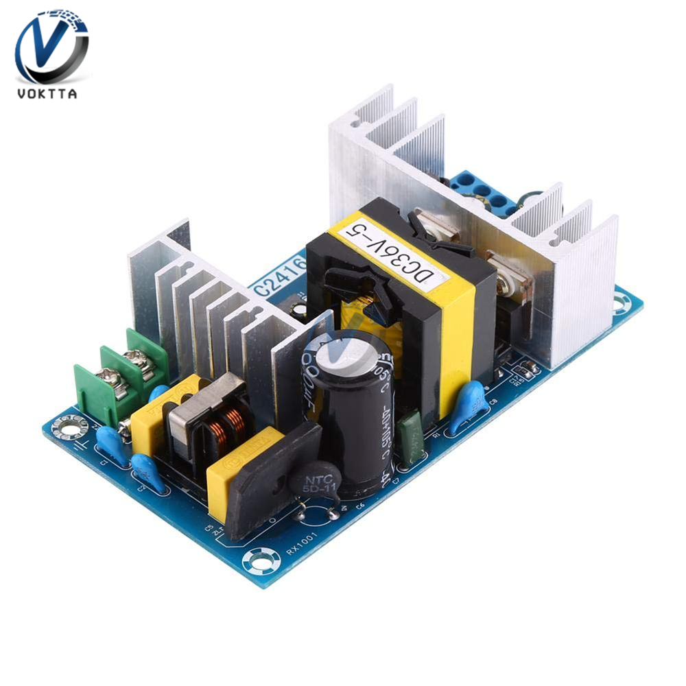 <font><b>AC</b></font> to <font><b>DC</b></font> <font><b>36V</b></font> <font><b>5A</b></font> <font><b>180W</b></font> Switching Power Supply Board High Power Regulated Transformer Industrial Power Supply Module AC100-240V image