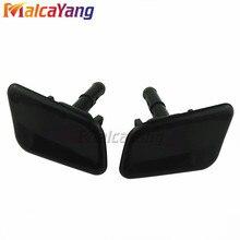 Car Front Headlamp Headlight Washer spray nozzle Cover Cap For Hyundai Azera 2011 2012 2013 2014 986803V000 986903V000