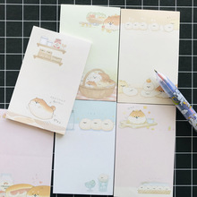 Planner Notepad Memo-Pads Office-Supply Student Stationery Shiba Cute Kawaii School 30-Pages