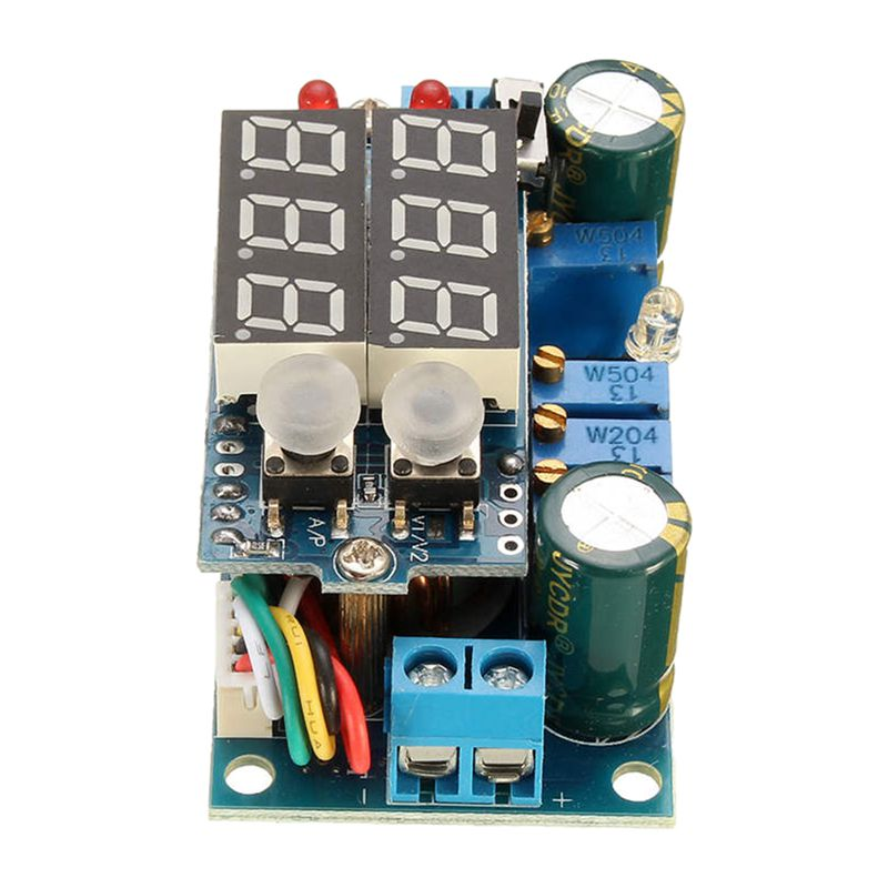 5A MPPT контроллер солнечной панели DC-DC понижающий CC/CV модуль зарядки светодиодный дисплей синий