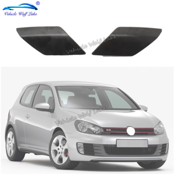 For VW Golf 6 A6 MK6 For GTI 2009 2010 2011 2012 2013 Car Front Bumper Headlamp Headlight Wash Spray Nozzles Cap image