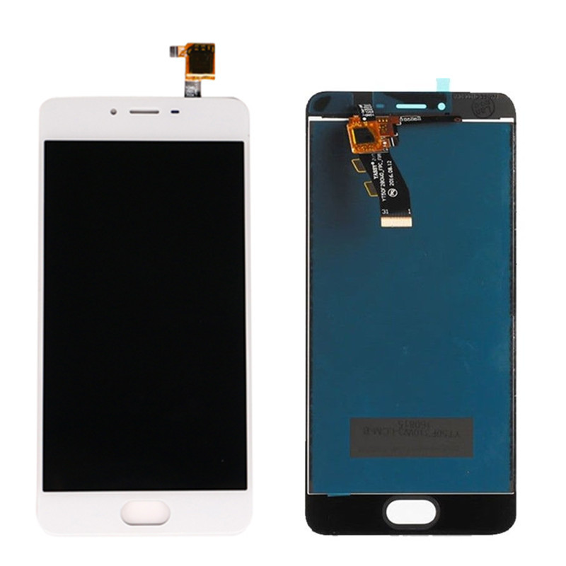 For <font><b>Meizu</b></font> <font><b>M3S</b></font> <font><b>Mini</b></font> Full LCD <font><b>Display</b></font> Touch Screen Digitizer Assembly Replacement 100% Tested image