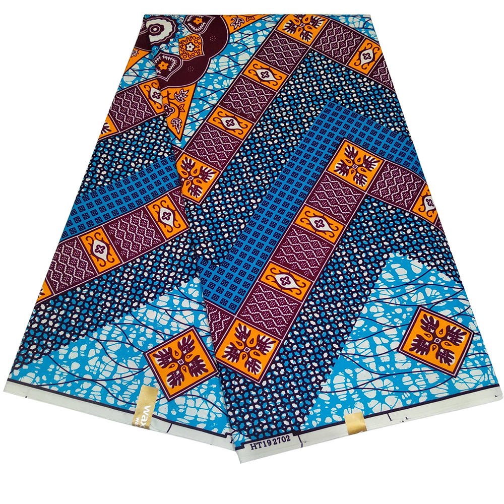 Ankara Holland Real Wax Prints Fabric Cheap-Fabric New Wax High Quality African Fabric For Party Dress Y616