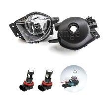 Mzorange 1 คู่/ซ้าย/ขวาด้านหน้าไฟหมอกโคมไฟสำหรับ BMW E90 E91 325/328/ 335 2005 2006 2007 2008