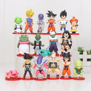 Image 3 - 8 Stks/set 3 10Cm Dragon Ball Z Wcf Zoon Goku Chichi Dwc Gohan Piccolo Vegeta Nappa Raditz Freeza pvc Action Figure Model Speelgoed