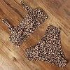 Leopard Print/Solid/Patterned High Waisted Bikini 18