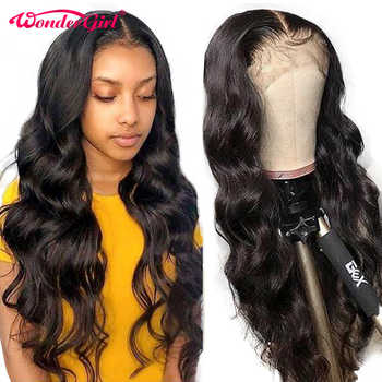 Remy Peruvian Body Wave 360 Lace Frontal Wig Pre Plucked With Baby Hair 360 Lace Front Human Hair Wigs Lace Wig Wonder girl - DISCOUNT ITEM  30% OFF All Category