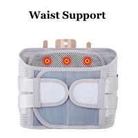 New Elastic Adjustable Orthopedic Posture Corrector Brace Men Women Lower Back Waist Trimmer Belt Lumbar Support Belt Corset
