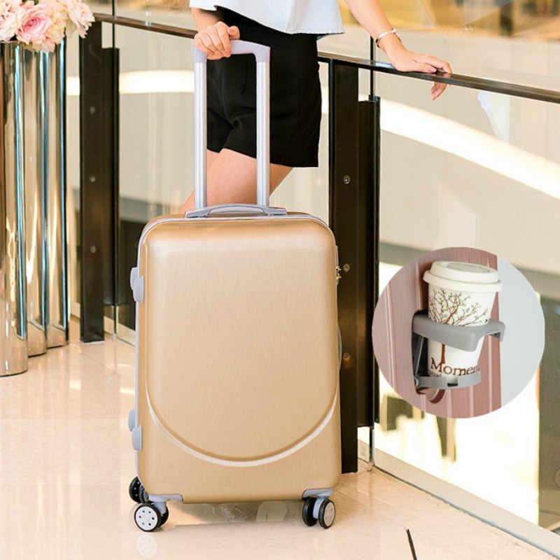 Vintage ABS + PC maletas con ruedas equipaje rodando Spinner bolsa de viaje de mujer 20 pulgadas maletas de cabina rueda 24/26 pulgadas Retro maletero