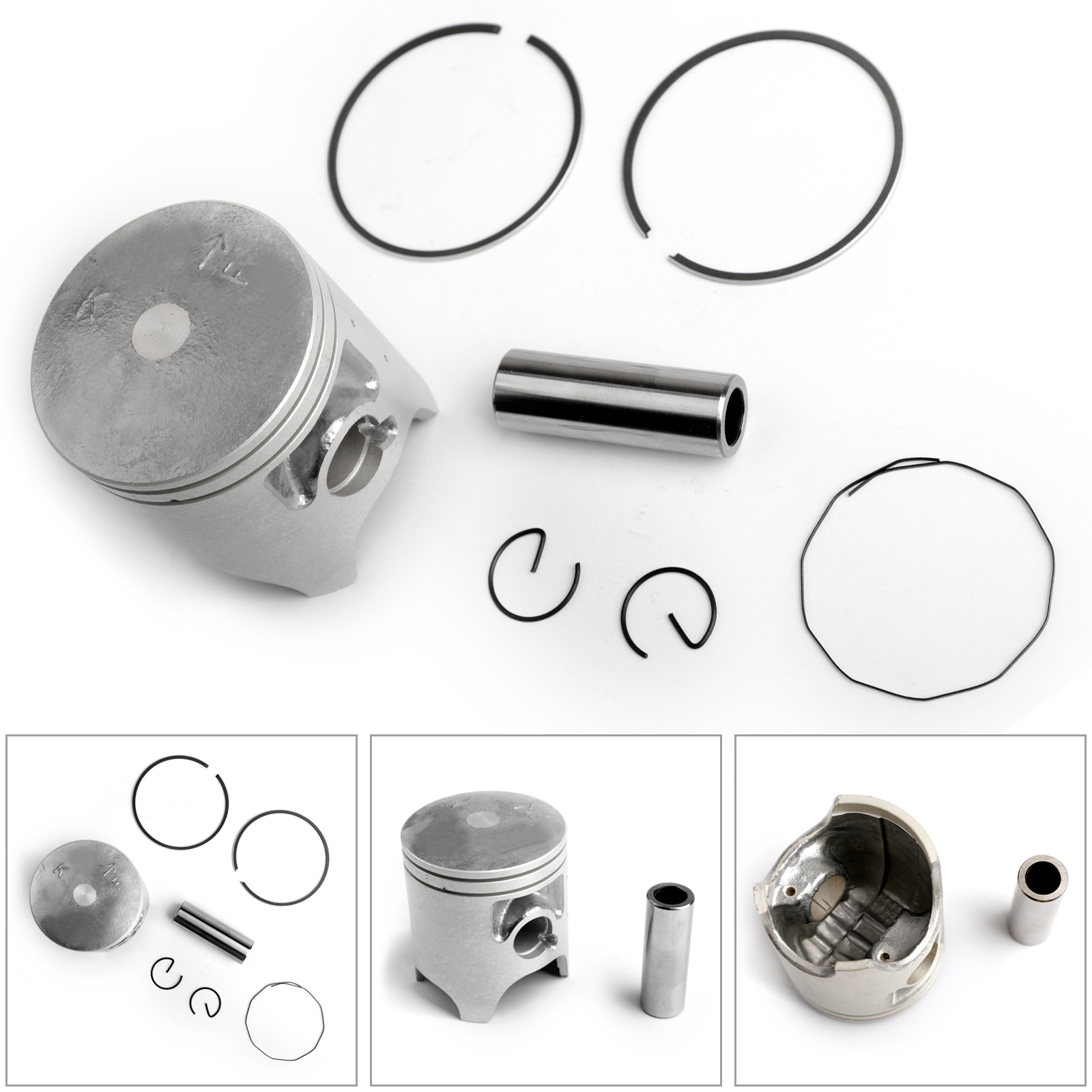 Yamaha TZR125 TZR250 56.40mm STD Bore Piston Kit Also fits some DTR125
