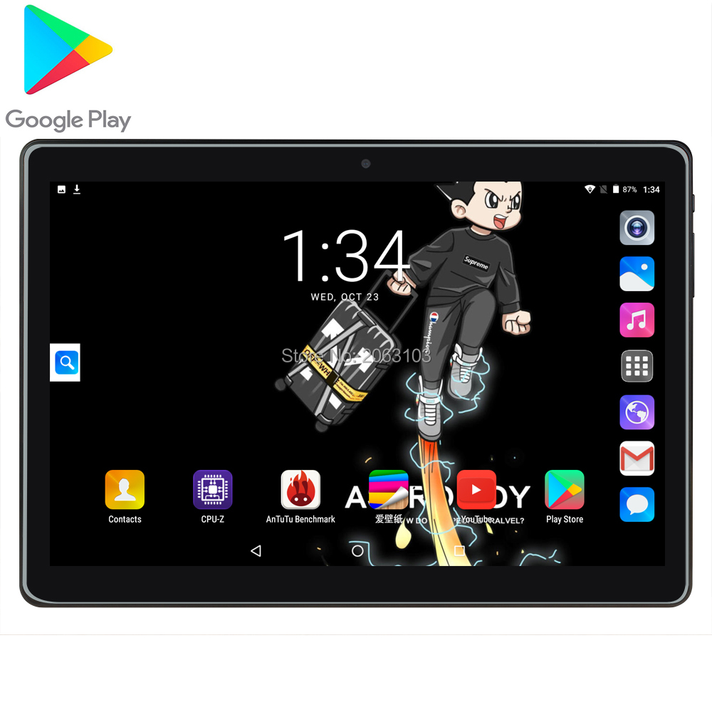 BOBARRY 2020 10.1 Inch Android 7.0 Octa Core 3G Call Tablet Pc 2GB + 32GB WiFi Laptop 3G 4G LTE Phone Call Tab Pc Tablets 10