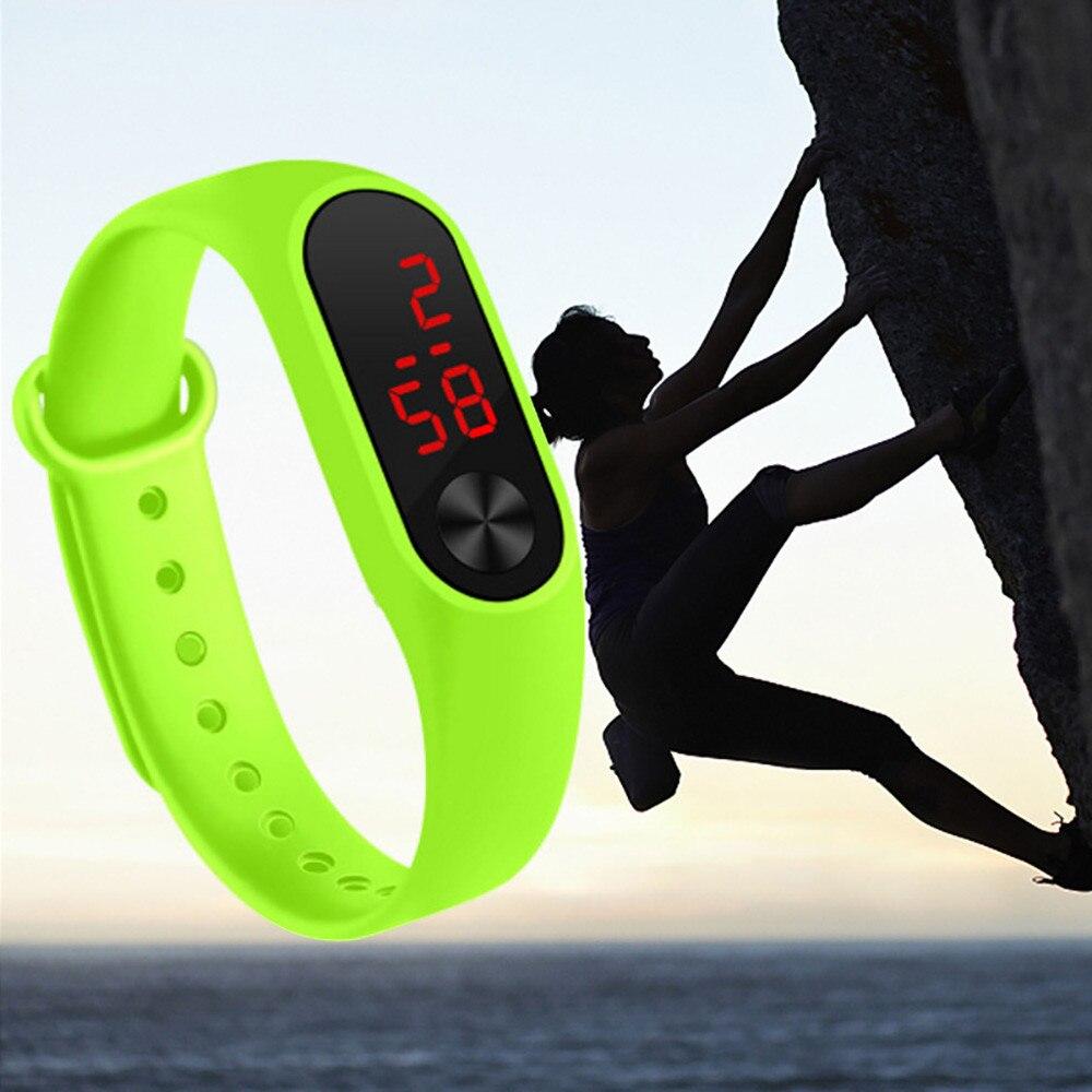 New Children's Watches Kids LED Digital Sport Watch For Boys Girls Men Women Electronic Silicone Bracelet Wrist Watch Reloj Nino