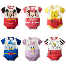 Mickey Baby Girl Clothes Baby Rompers