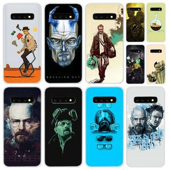 Soft Silicone Case For Samsung Galaxy S30 S20 Uitra S10 S9 S8 Plus Lite S20fe S10e S7Edge Breaking Bad Chemistry Walte image