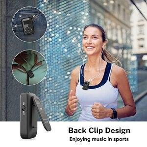Image 3 - Deelife Correndo MP3 Jogar Com fone de ouvido Bluetooth Esporte Clipe Braçadeira 8GB MP 3 Jogadores de Música de Alta Fidelidade de Rádio Mini para Esportes
