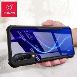 Dla Mi 9 Lite Case dla Xiaomi CC9 Case Caso Xundd luksusowe poduszki powietrzne odporna na wstrząsy wyczyść tylna pokrywa dla Xiaomi A3 Case dla CC9e Funda