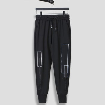 Owen Seak Men Casual Sweatpants Pants Suit Men's Clothing Autumn High Street Men Harem Pants Black Pants Size XXL