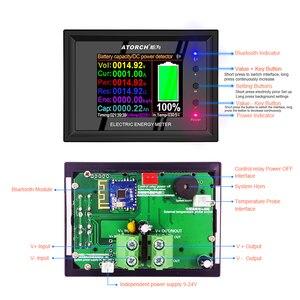 Image 5 - DT24 HD IPS Bluetooth digital display DC Power APP Voltmeter Amperemeter Batterie Kapazität Tester Kraftstoff Gauge spannung detektor Meter