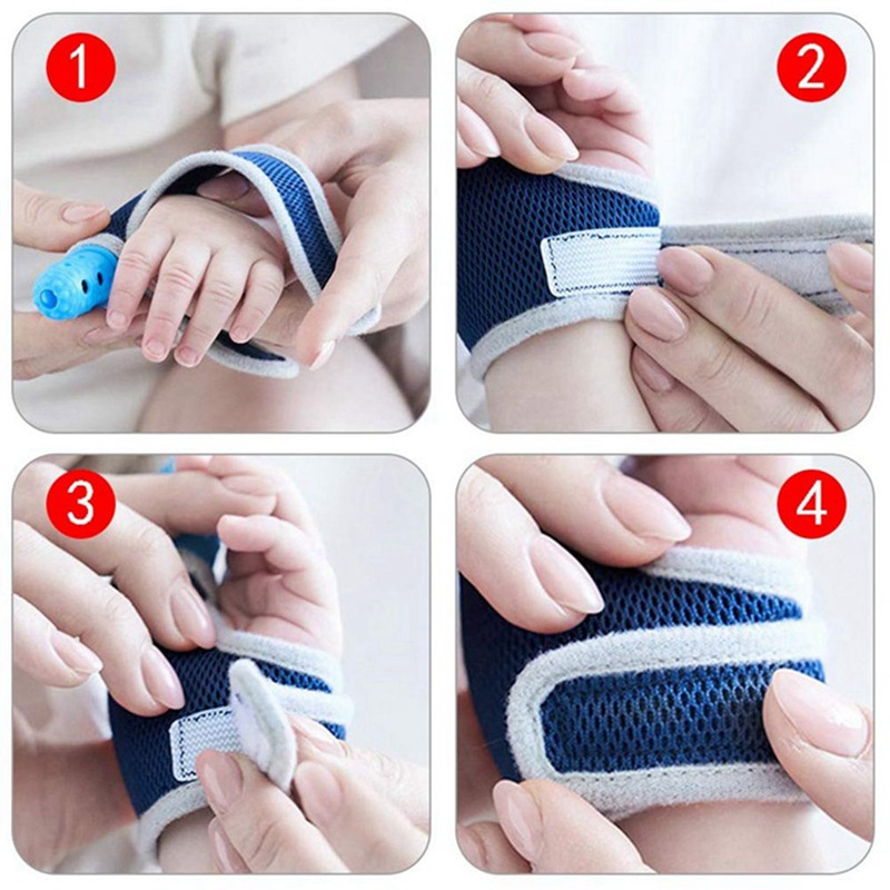 Baby Safety Silicone Molar Finger Sleeve Anti-biting Hand Gloves Finger Sleeve G