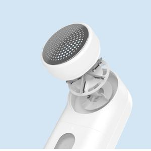 Image 2 - Original Xiaomi Mijia Portable Lint Remover Hair Ball Trimmer Sweater Remover 5 Leaf Cutter Head Mini Motor Trimmer