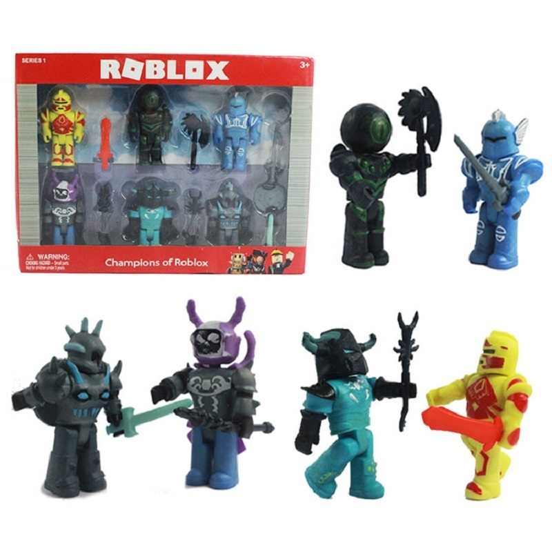 2019 engraçado alegria novo terno robloxs figura jugetes 7cm pvc figurinhas jogo robloxs meninos brinquedos para roblox-jogo