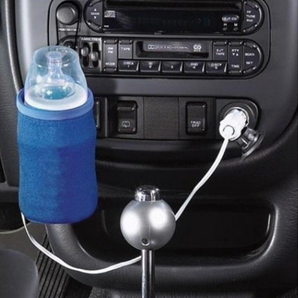Быстрая Еда молоко путешествия чашки подогреватель Портативный DC 12V в автомобиль детские бутылочные нагреватели