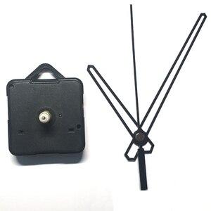Hurtownie 50 zestaw akcesoria domowe zeskanuj zegar kwarcowy cichy mechanizm ruchu wrzeciona mechanizm wału 22mm