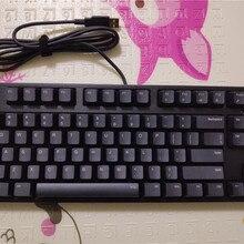 IKBC C87 TKL механическая клавиатура без ключа C87 PBT keycap cherry mx серебристый переключатель коричневая скорость без подсветки игровая клавиатура