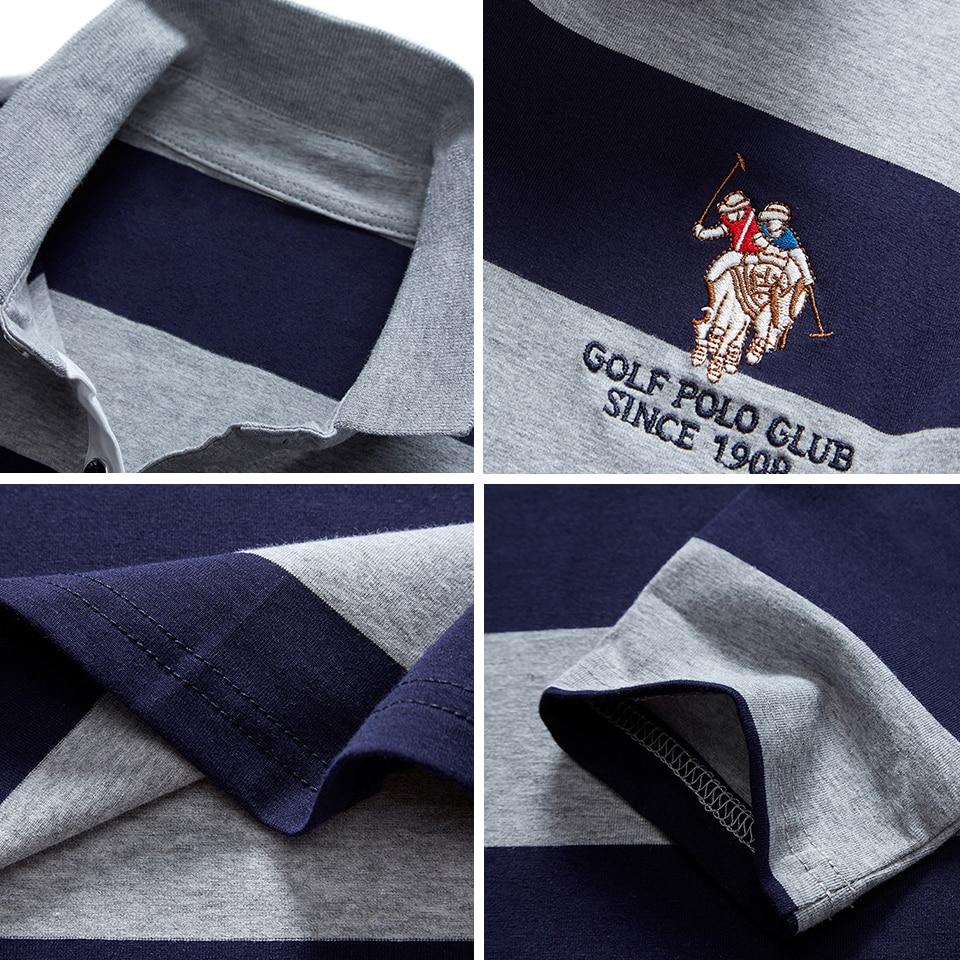 2020 New Arrival Autumn High Quality Men Polo Shirts Embroidery Polo Shirt Casual Polo Shirts men's Long sleeve polo shirt polo 6
