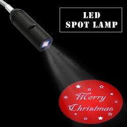 110V / 220V E27 Base Xmas Christmas Projector light Home Hotel Decoration Projection Lamp Advertising Logo spotlight lamps
