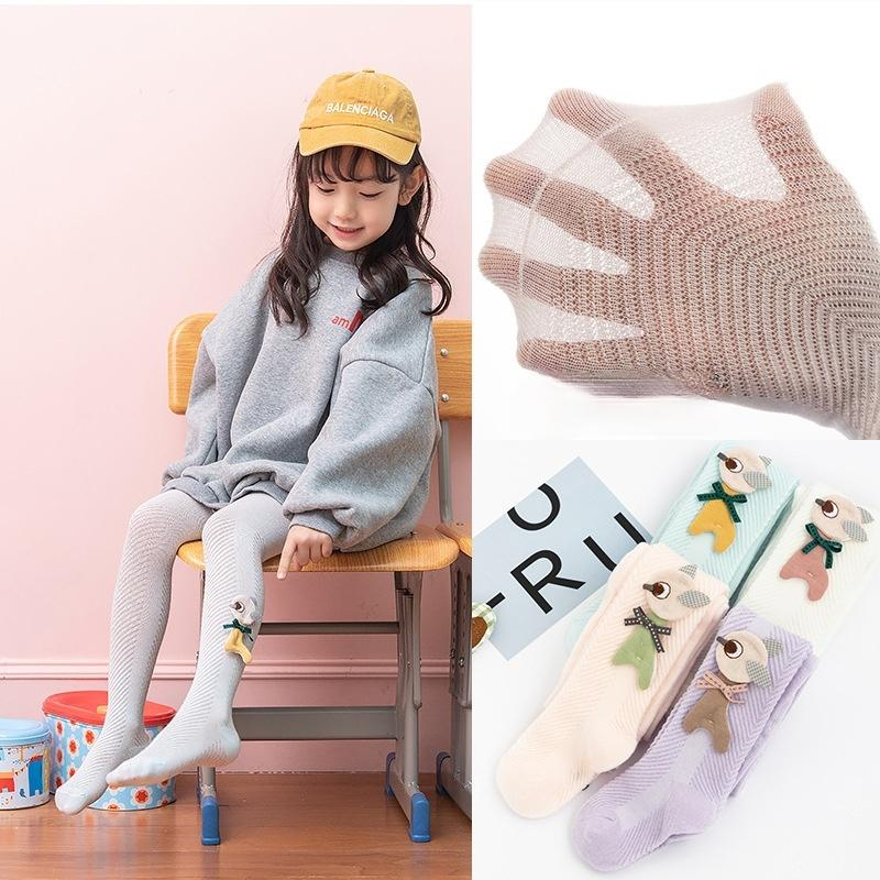 1PC Children's Mosquito Pants Summer Korean Cartoon Thin Section Girl Baby Leggings Fashionable Girl Pantyhose
