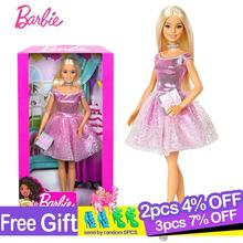 Barbie Original Brand Doll Happy Birthday Fashion Accessory twinkle Girl Reborn Toys for Children Boneca Girls Brinquedos Gifts