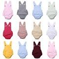 Imcute 11 видов стилей, для младенцев, для новорожденных, для маленьких мальчиков и девочек Комбинезон летнее хлопковое платье без рукавов с под...
