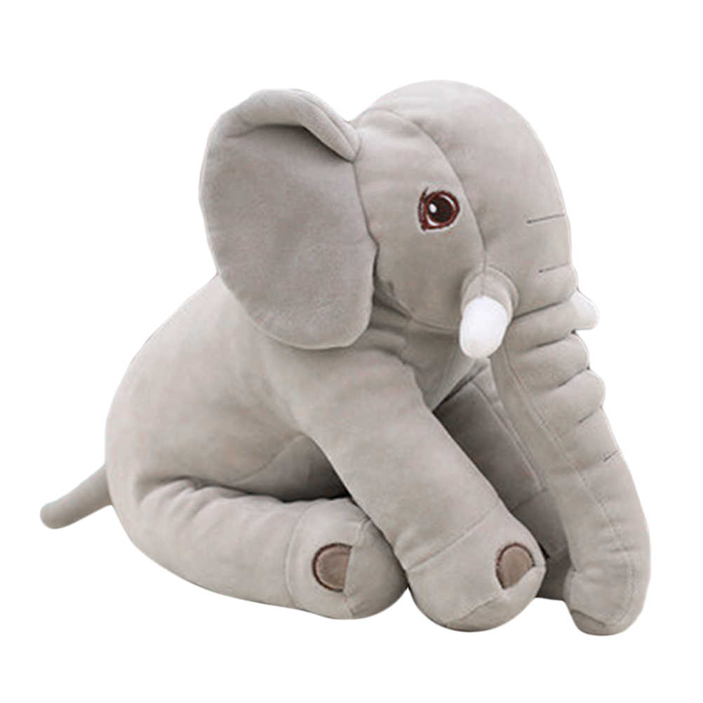 Cute Stuffed Elephant  Appease Elephant Pillow Soft Sleeping Stuffed Animals Plush Toys Baby Playmate  for Children Stuffed Doll
